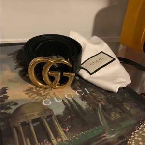 Black Gucci Belt (size 110)